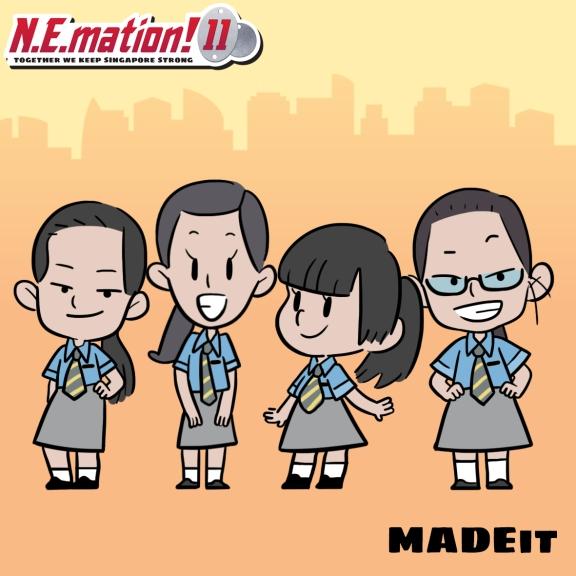 N.E.mation! 11 - MADEit